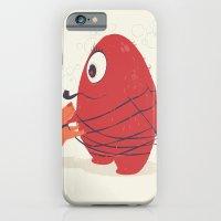 Cyclopes Monster Blob & Orange Dog iPhone 6 Slim Case