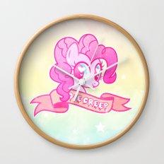 GRUNGE Pinkie Wall Clock