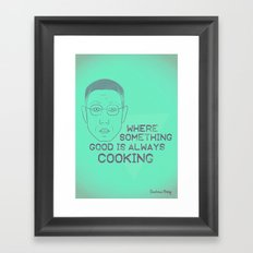 Breaking Bad - Faces - Gustavo Fring Framed Art Print