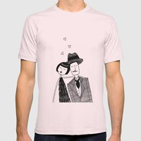 In Love Mens Fitted Tee Light Pink SMALL