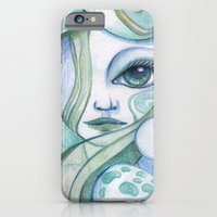 iPhone & iPod Case featuring Voice Of The Sea by Kristina Tea