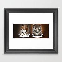 Mislabeled Animals Framed Art Print