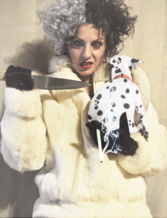Cruella Deville-Disney Villains Series Art Print