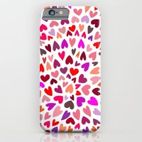 iPhone & iPod Case featuring Love Pink by Shakkedbaram