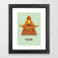 The Lebowski Series: The Dude Framed Art Print