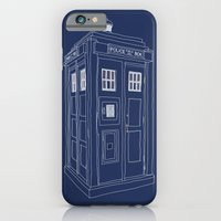 Doctor Who Tardis iPhone 6 Slim Case