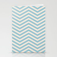 chevron Stationery Cards featuring Chevron by Patterns and Textures