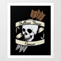 Art Print featuring Follow Your Arrow by Eric Weiand