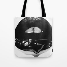 Ink Lips Tote Bag