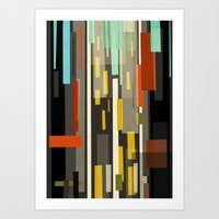 Straight Up New York Art Print