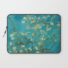 Vincent Van Gogh Blossoming Almond Tree Laptop Sleeve
