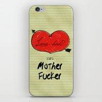 Love Huh? iPhone & iPod Skin