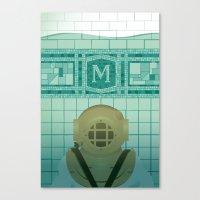Flooded Canvas Print