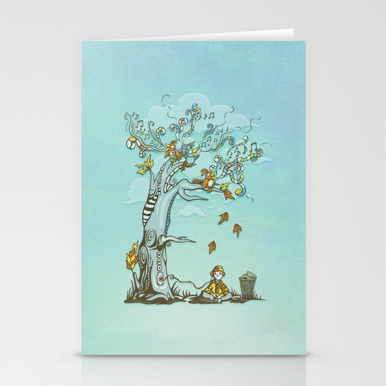 I Hear Music in Everything Stationery Card