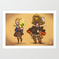 #85 - Tales Of Monkey Is… Art Print