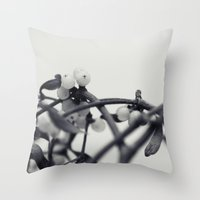 mistletoe... Throw Pillow