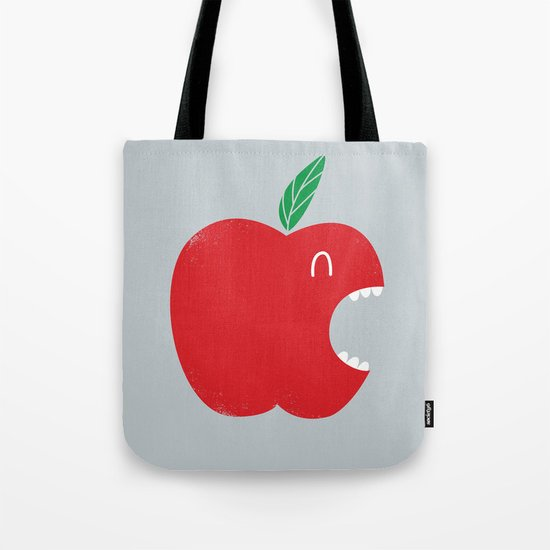 Who's biting who? Tote Bag