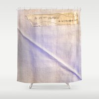 yourself Shower Curtain