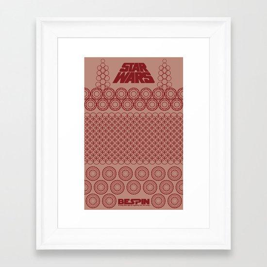 Star Wars- Bespin Framed Art Print