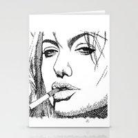 Angelina Jolie Stationery Cards