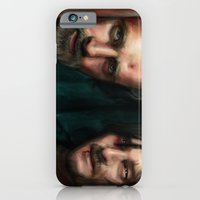 walking dead iPhone & iPod Cases featuring Dead Walking by ChrisHdzArt