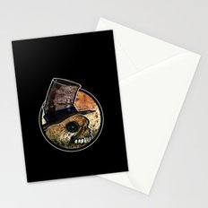 Skull in a Top Hat Stationery Cards