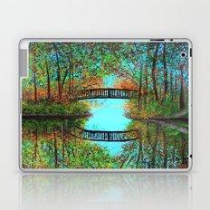 Small bridge in the woods  Laptop & iPad Skin