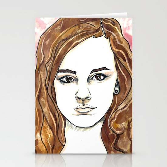 Hermione Granger Stationery Card