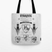 Star Fox Vintage Poster … Tote Bag