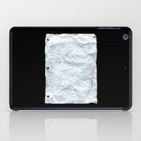 UNKNOWN PAPER iPad Case