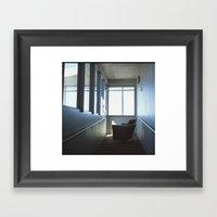 Life Chair Framed Art Print