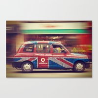London's Calling  Canvas Print