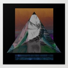 Bermuda Love Triangle Art Print