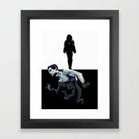 Skin Deep (Under the Skin) Framed Art Print