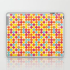 Funny Polkas-Yellow and orange Laptop & iPad Skin