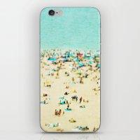 Coney Island Beach iPhone & iPod Skin