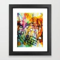 Look Around Framed Art Print