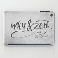 Handwriting: W, X, Y, & Zed iPad Case