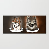 Mislabeled Animals Canvas Print