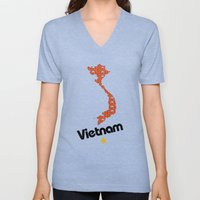 Vietnam, Come for Peace Unisex V-Neck