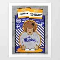 The Worriers: Hairy Hal Art Print