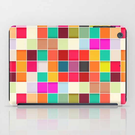Colorful Rectangles iPad Case