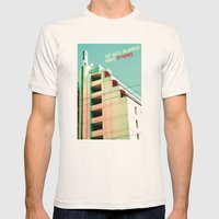 We Will Always Have Athe… Mens Fitted Tee Natural SMALL