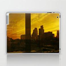 golden minneapolis Laptop & iPad Skin