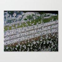 Ice Prison Canvas Print