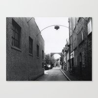 Downtown Salem Canvas Print