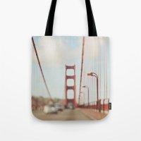 San Francisco Golden Gate Bridge. A Memory SF Tote Bag