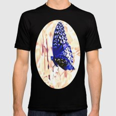 Fly Away Mens Fitted Tee Black SMALL