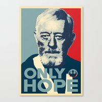 OBI WAN The Only Hope Canvas Print