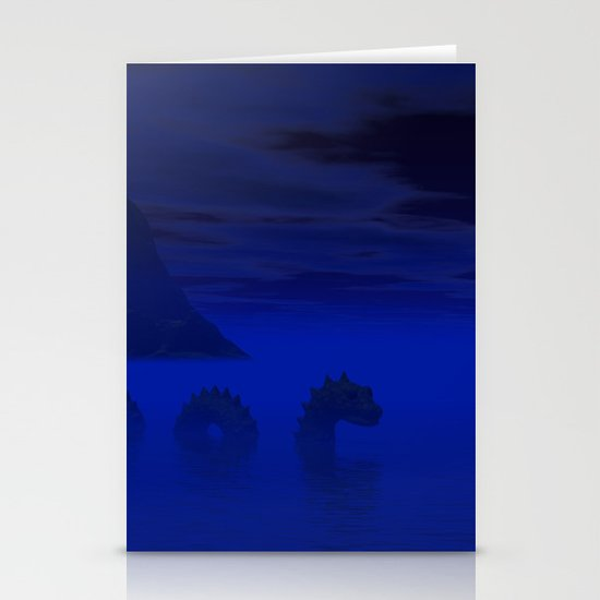 Midnight on the Loch Stationery Card
